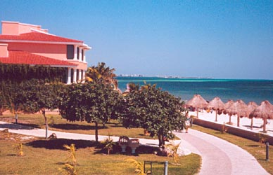 View of Cancun from Hotel