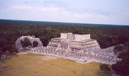 Sacrificial Temple from El Castillo